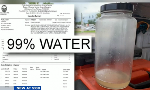美国加油站也造假?检查员发现油箱中的柴油燃料含水99%